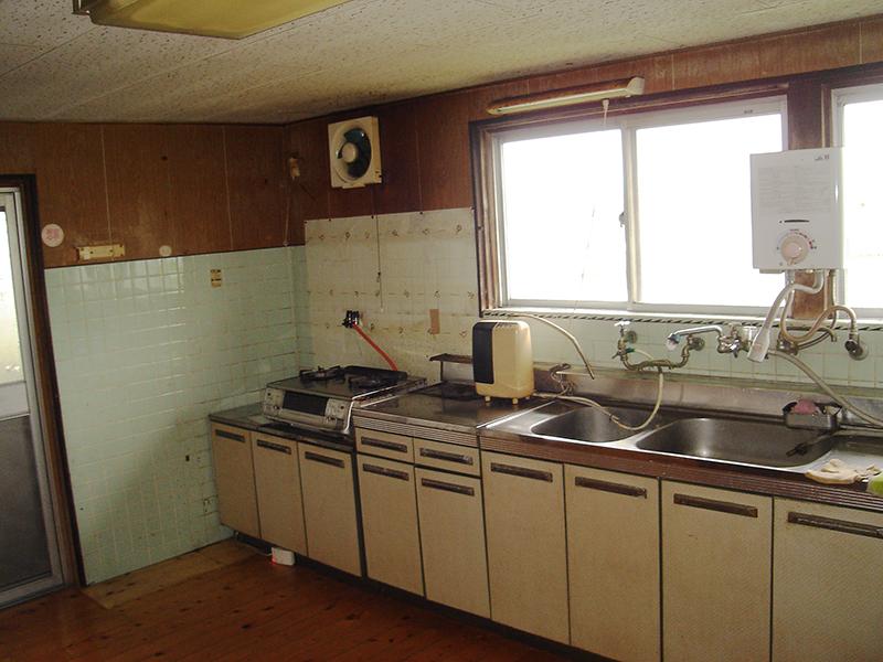 キッチンの施工前