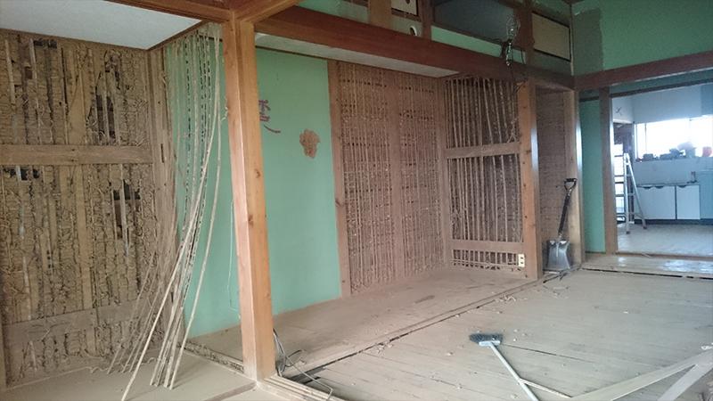 家屋の解体