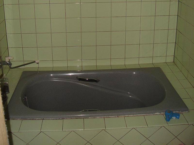 お風呂の施工前