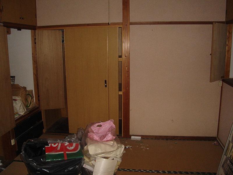 部屋の施工前