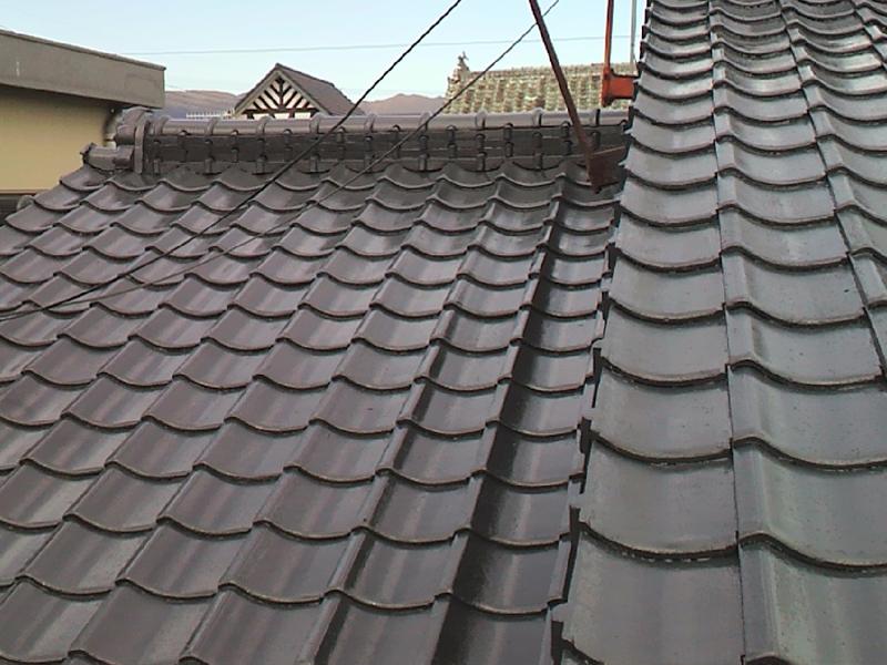 行橋市 屋根塗装工事 施工例