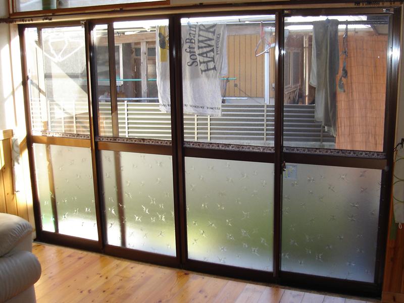 インプラスの施工前(大窓)