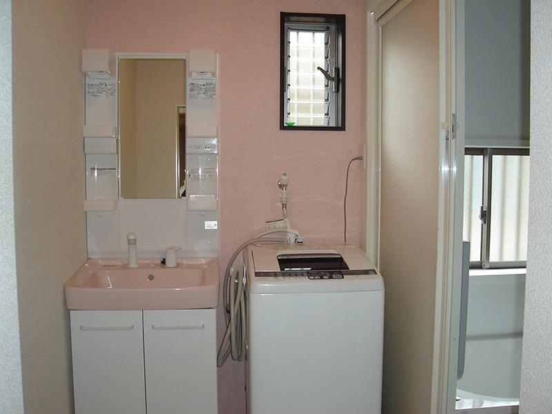 洗面所の施工後