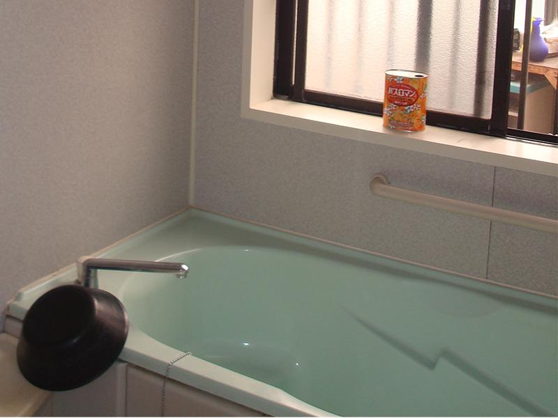 施工後 お風呂