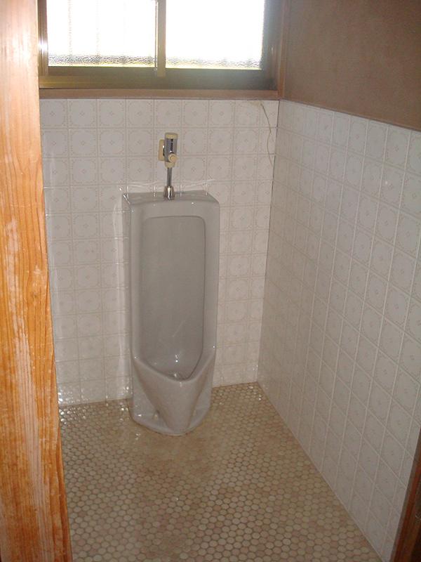 施工前 トイレ