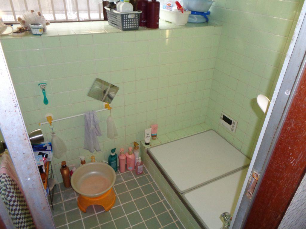 施工前 浴室