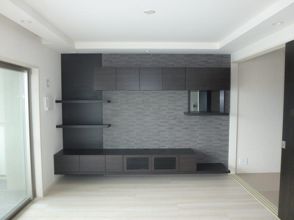 N様邸 壁面収納設置リフォームの施工例