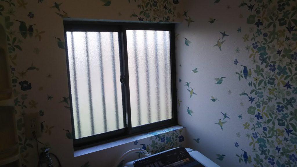 施工前 窓
