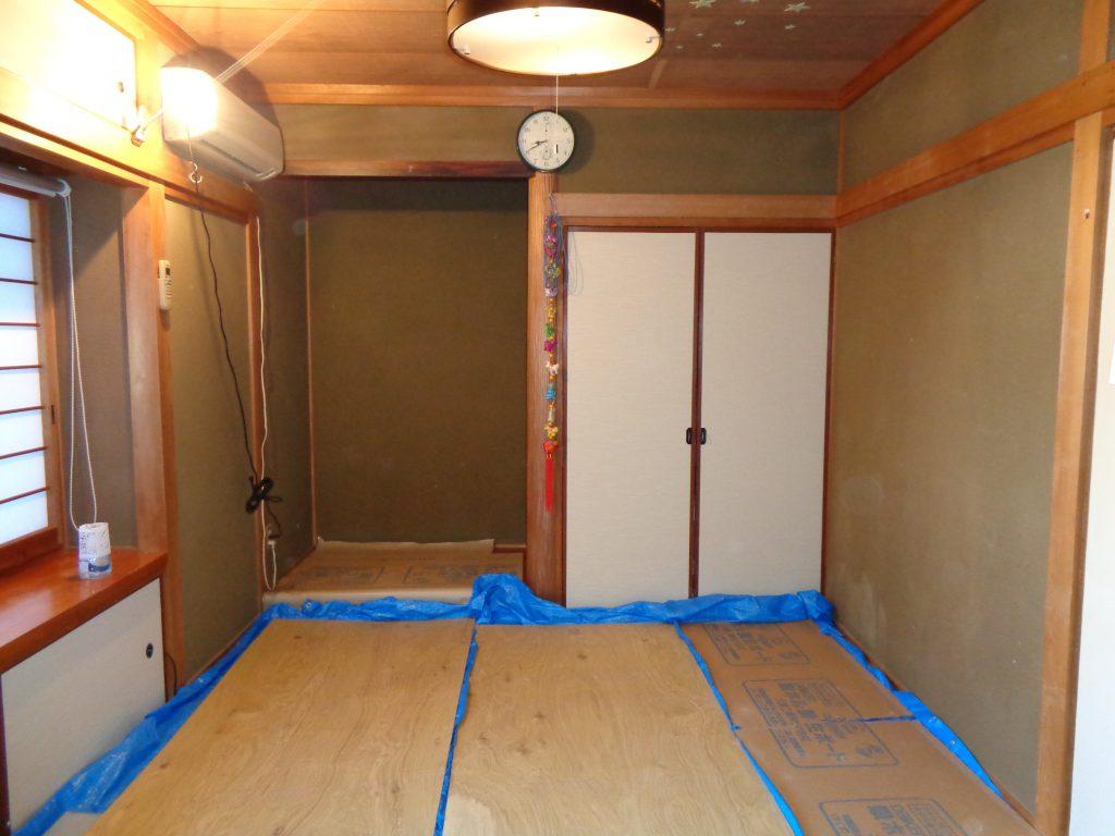 施工前 和室